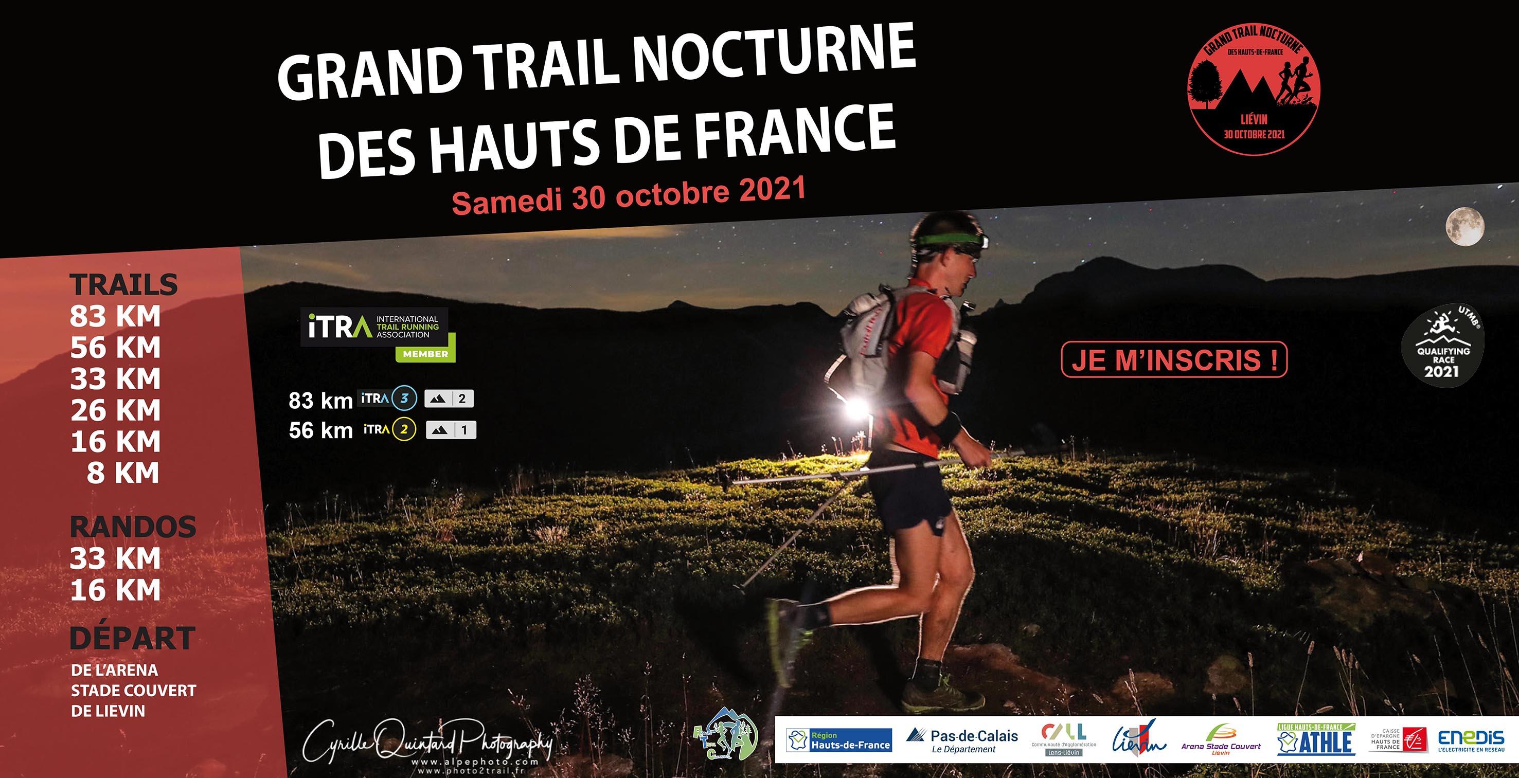 2ème édition du Grand Trail Nocturne des Hauts-de-France